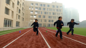 track at Ambience School